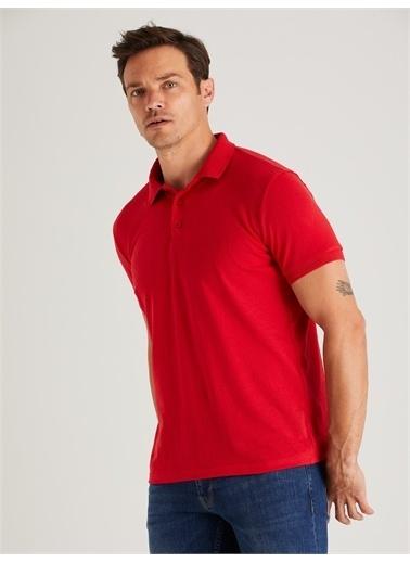 Dufy Tişört Kırmızı